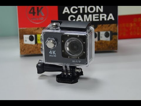 New Action camera 4K 25$  - unboxing -