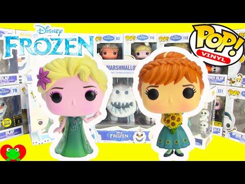 Disney Frozen Fever Funko Pop Vinyl Collectible Figures