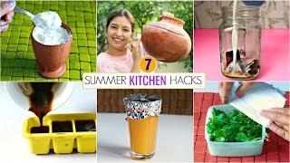 7 SUMMER KITCHEN Hacks You Must Know | Kitchen Tips & Tricks | CookWithNisha