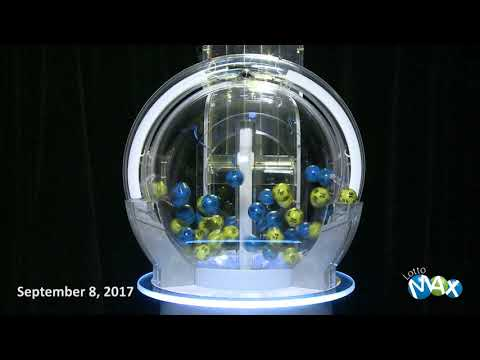 Lotto Max Draw September 8, 2017