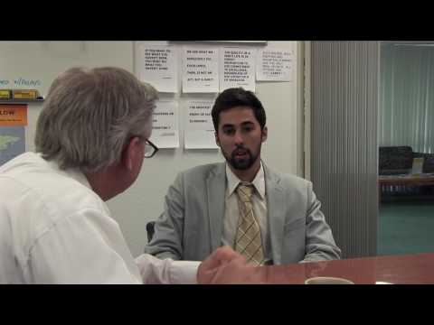 Building Rapport in an Interview Helps, Just do it at the Beginning - Recession America Day 9