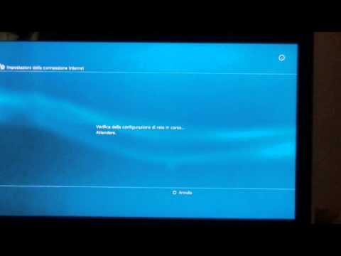 Come mettere la PS3 online con wireless