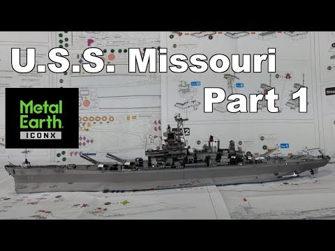 ICONX Build - U.S.S. Missouri - Part 1