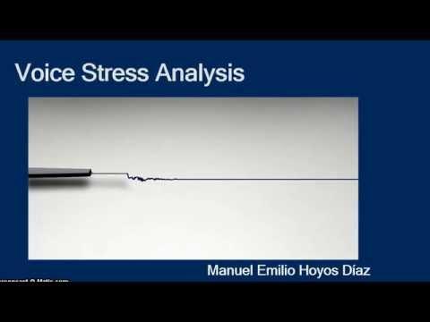 VSA (VOICE STRESS ANALYSIS ) Presentación en Congreso Mundial de Ciencias Forenses 2014 Vallarta