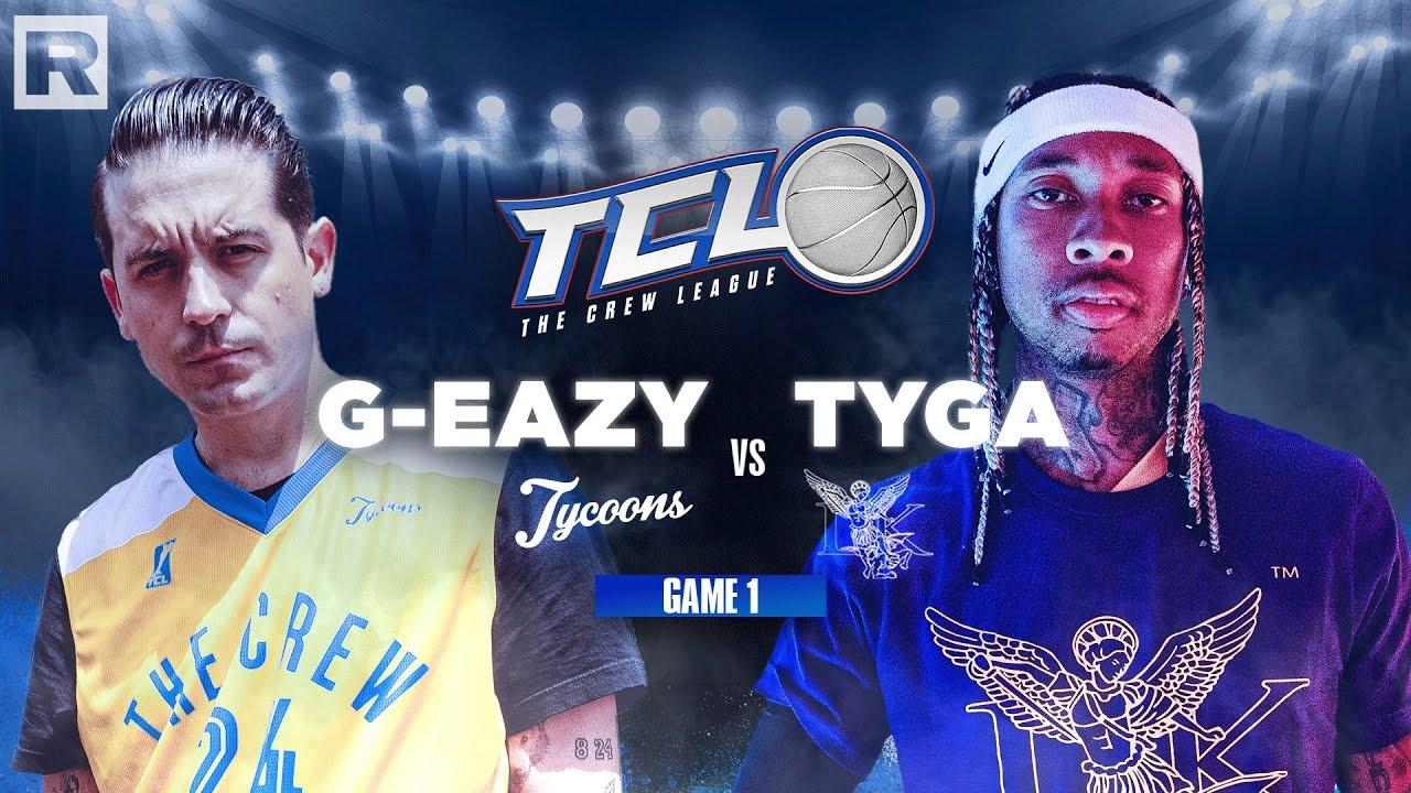 Tyga vs G-Eazy - The Crew League Season 2 (Episode 1)