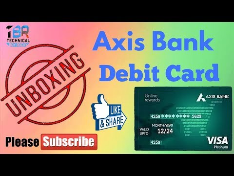 Unboxing Axis Asap Account Debit Card by Status for Deewane !!Latest Update 2018 !! Rocky Gupta