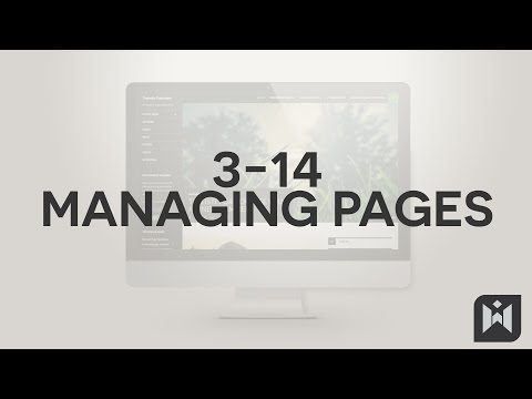 WordPress for Beginners 2015 Tutorial Series | Chapter 3-14: Managing Pages