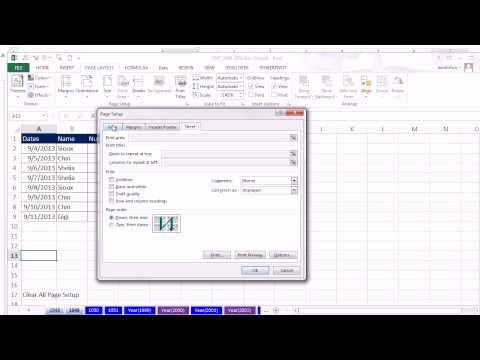 Excel Magic Trick 1049: Copy Page Setup From One Sheet To Another