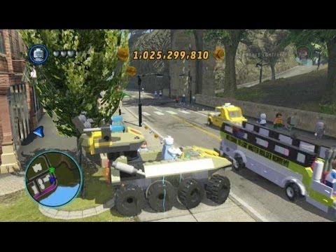 LEGO Marvel Super Heroes - Unlocking Hydra Tank + Gameplay (Vehicle Token Location)