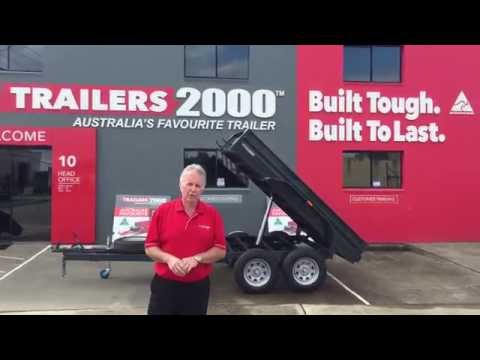 Hydraulic Tipping Trailers by Trailers 2000