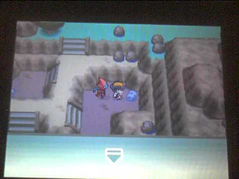 Pokemon HeartGold Event #4 Deoxys and The Meteorites.