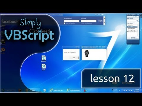VBScript Basics, Part 12 | Internet Explorer - SendKeys (Automation)