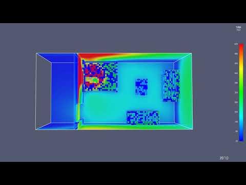 Pyrosim fire model- Change door size
