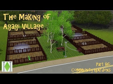 The Making of Agagi Village(Create a World) - Part 86: Community Garden