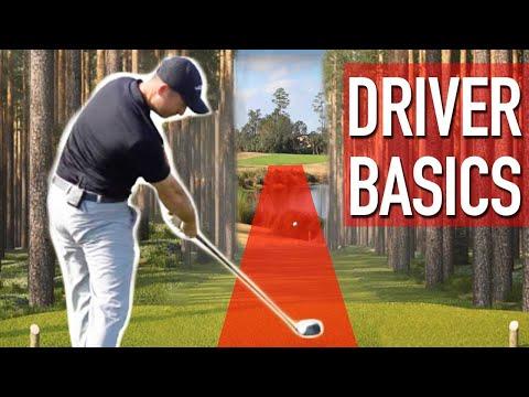Driver Basics For Longer Straighter Golf Shots
