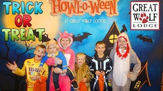 Download Halloween at Great Wolf Lodge - Trick-or-Treat, Swimming, Bowling, Arcade Games - Family Fun Pack Video