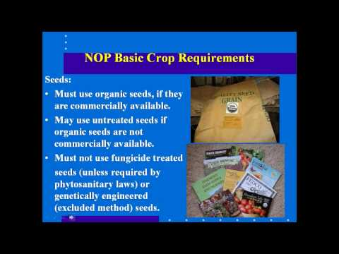 ABCs of Organic Certification Webinar by eOrganic