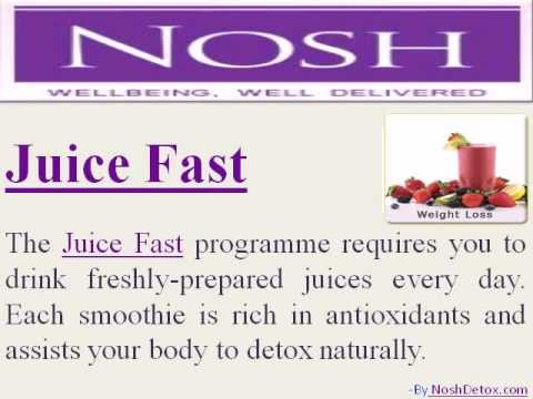 Juice Fast and Detox Delivery Food Services offered by Diet Delivery London Expert Nosh Detox