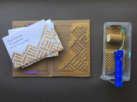 Print-Tastic Envelopes: The cure for boring white envelopes
