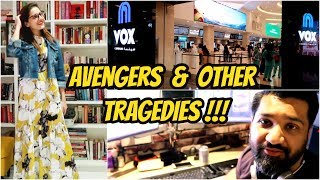 VLOG #42 Avengers Infinity War & Other Tragedies | Pakistani Youtubers