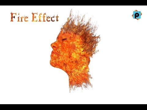 Picsart Tutorial - Fire motion fire effect | picsart editing tutori