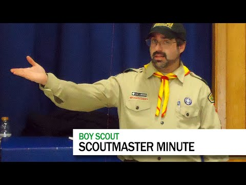 ScoutmasterDave #14: Scoutmaster Minute
