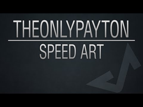 TheOnlyPayton YouTube Background - Speed Art