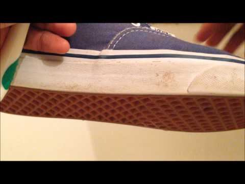 How to clean vans  HD very white mid soles