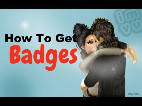 How To Get Badges On IMVU! *updated*