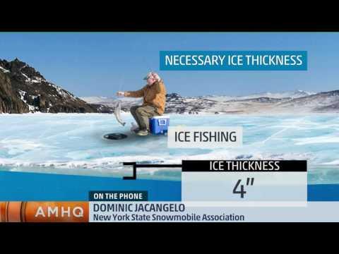 Snowmobilers on Thin Ice