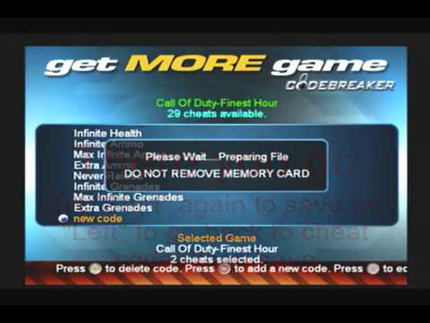 CodeBreaker - How to input self made codes - Ps2 - Hacking