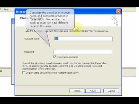 Microsoft Outlook Express Email Setup Tutorial