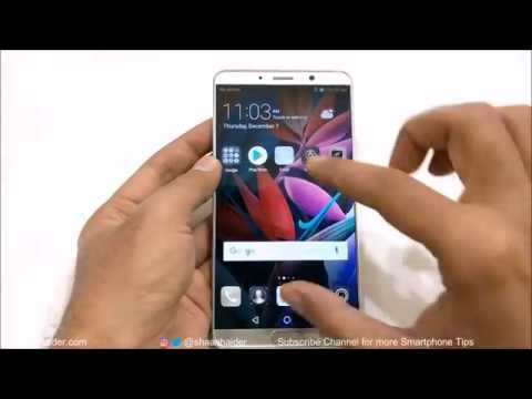 Huawei Mate 10 / Mate 10 Pro - How to Customize the Home Screen