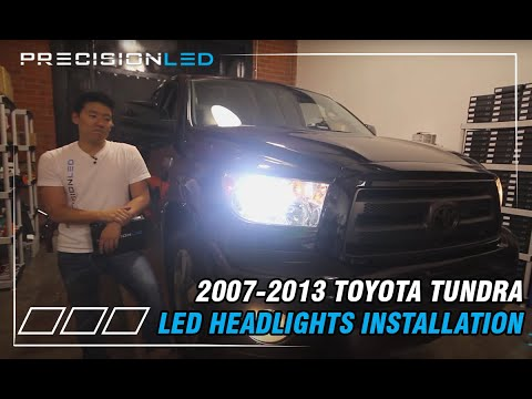 Toyota Tundra LED Headlights - Do it Yourself Install 2nd gen 2007-2013