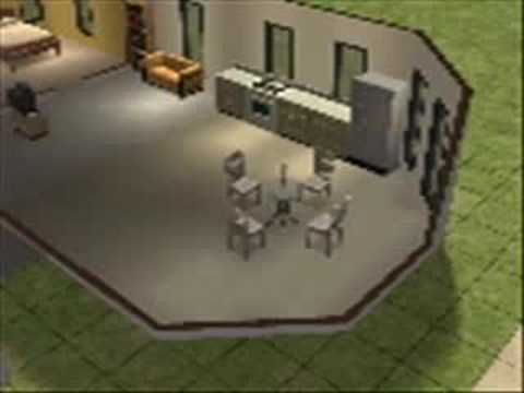 Cheap Open For Business House (The Sims 2)