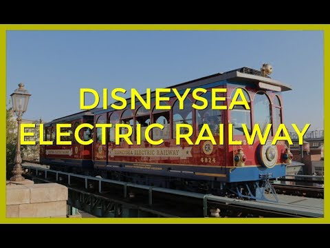 DisneySea Electric Railway - Night Time POV - Tokyo DisneySea