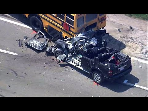 Tow-Truck Driver Killed In School Bus Accident