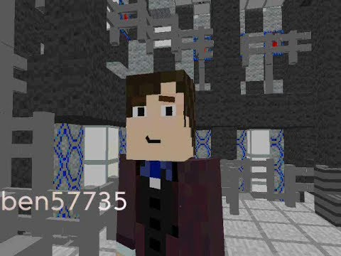 Minecraft 11th Doctor regeneration - Doctor Who