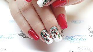 Вишневый сад  Летний вкусный дизайн ногтей