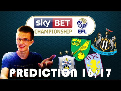 EFL SkyBet Championship Prediction 2016/17 (Table)