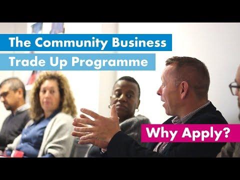 The Community Business Trade Up Programme   School For Social Entrepreneurs