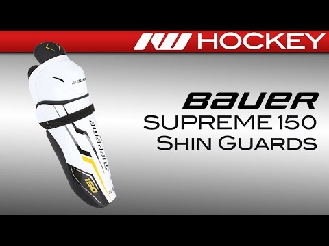 Bauer Supreme 150 Hockey Shin Guards Review