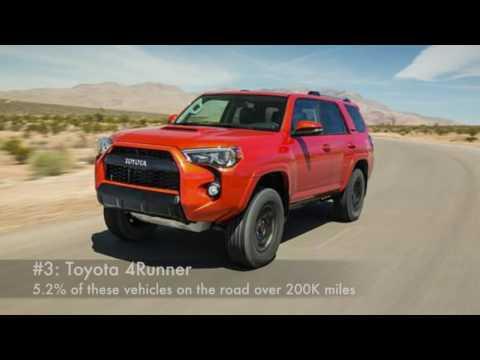 Top 5 Longest Lasting Vehicles That Reach 200,000+Miles