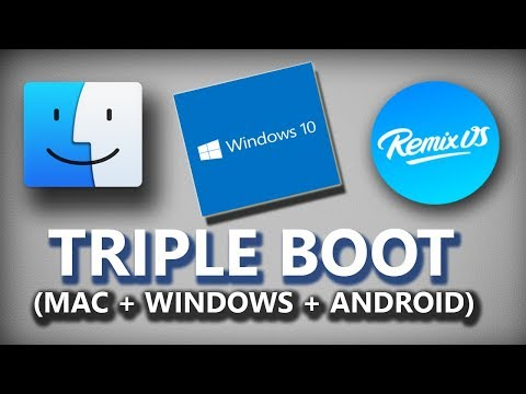 How to triple boot mac os x/windows10/android on your laptop/pc (easiest method)