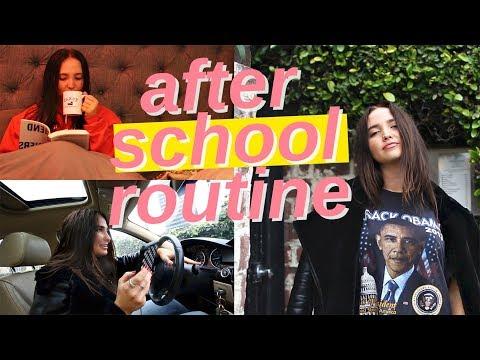 after school night routine 2018