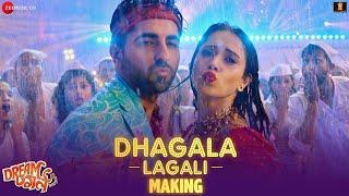 Dhagala Lagali Song Making | Dream Girl | Ayushmann Khurrana | Nushrat Bharucha | Riteish Deshmukh