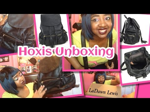 HOXIS Faux Leather Bag/ Backpack UnBoxing