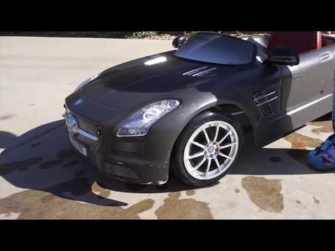Kids Wash Play Mercedez Benz Car