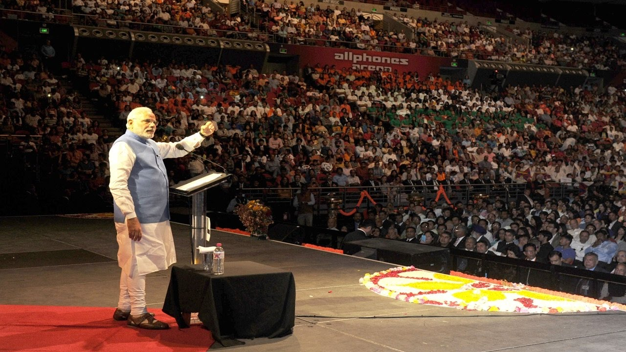 PM Narendra Modi address to Indian community in Sydney   PMO