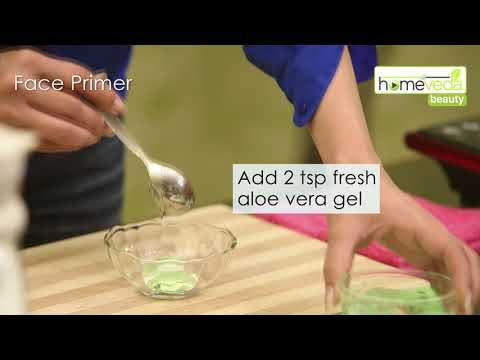 DIY Face Primer in 5 Minutes| Easy Remedies| Beauty Remedies - Homeveda